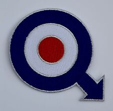 Quadrophenia RAF Target with Arrow Embroidered Patch