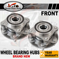 2 x Front Wheel Bearing Hub Hubs For Toyota Landcruiser Prado 150 series 2009-ON