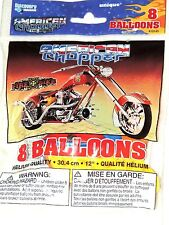 """AMERICAN CHOPPER   8-12"""" PRINTED LATEX BALLOONS MULTI-COLOR    PARTY SUPPLIES"""