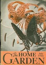1946 The Home Garden Magazine - July: Pansies/Bearded Iris/Transplanting Barge
