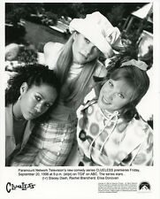 RACHEL BLANCHARD ELISA DONOVAN STACEY DASH PORTRAIT CLUELESS 1996 ABC TV PHOTO