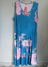 Polyester/Spandex Midi Plus Size Dresses for Women