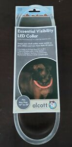 """Alcott Essential Visibility LED Collar,  Fits  Any Dog 10"""" To 28"""""""