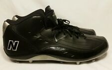 NWOT New Balance  MF890MK Black Mens Shoes Size 16 Football Cleats MSRP $74.99