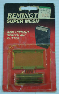 Remington Super Mesh Replacement Screen, Cutter and Spring SP-43 15796 Gold Tone