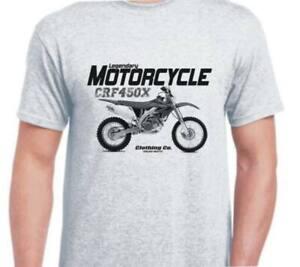 Honda CRF450X 2005 Vintage Retro Classic inspired motorbike art shirt tshirt