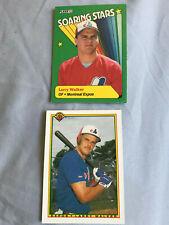 Larry Walker RC Rookie Card Lot 1990 Bowman/Fleer