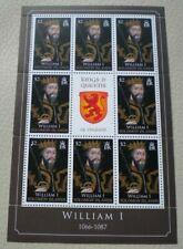 More details for 1066-1087 william i $2 solomon islands royal mail stamps - 8 stamp sheet mnh