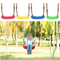 Plastic Garden Yard Swing Kids Hanging Seat Toys with Height Adjustable Kit