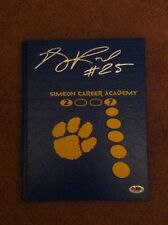 Derrick Rose Signed Autographed Auto 2007 Simeon Yearbook PSA DNA