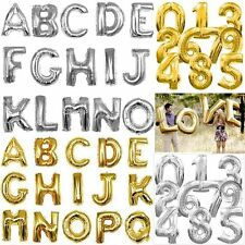 "Big Foil Balloons All Letters,Number & Symbols 34"" -Free Shipping"