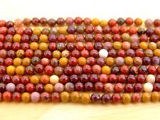 Mookaite Natural Gemstone Round Beads 3mm Jewellery Making (120+ Beads)