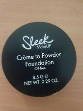 NEW SLEEK MAKEUP CREME TO POWDER C2P13 SHADES FOUNDATION RRP. £7.99 PRALINE