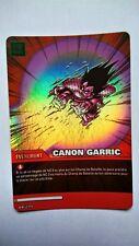 Carte Dragon ball Z Canon Garric DB-299 Brillante / HOLO