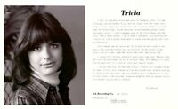 TRICIA (Lundeen) s/t LP Folk/SSW – Private Press, w/ Glossy Photo