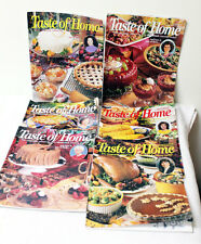 Lot of (6) Taste of Home Magazines - 1998 Complete Year - Fast Shipping