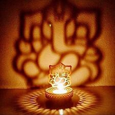 Ganesh Shadow Tea Light for Home Living Room & Office