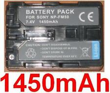 Akku 1450mAh typ NP-FM30 NP-FM50 NP-FM51 Für Sony DCR-PC9E