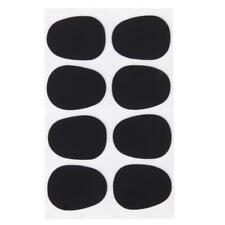 Alto / Tenore Sassofono Sax Boccaglio Patch Pad Cuscini 0,8 mm Nero