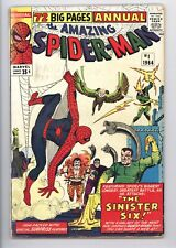 Amazing Spider-Man Annual #1 Vol 1 Nice Low Grade 1st App of the Sinister Six