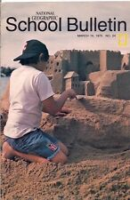 national geographic-SCHOOL BULLETIN-mar 10,1975-SAND CASTLES.