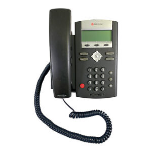 Polycom SoundPoint IP 330 SIP VoIP Business Phone with Stand PoE