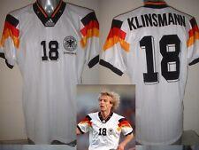 Germany Klinsmann Shirt Jersey Soccer Trikot Adidas Adult XL Deutscher Euro 92 W