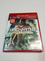 PS3 Uncharted: Drake's Fortune (Sony PlayStation 3, 2007 PS3) Complete CIB