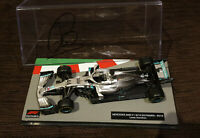 LEWIS HAMILTON SIGNED 2019 MERCEDES GP F1 MODEL 1:43 WORLD CHAMPION VERY RARE