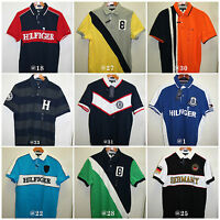 "Tommy Hilfiger,Men's short sleeve Polo Shirts""Custom Fit & Classic Fit"""