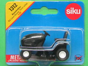 SIKU 1312 - RIDE ON MTD YARD-MAN Black -Die Cast Metal & Plastic Parts - New! °