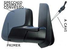 SPECCHIO SPECCHIETTO RETROVISORE DX FIAT IDEA 2008 IN POI A CAVI PRIMER