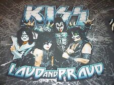 Kiss 2012 Tour Shirt ( Used Size L ) Very Good Condition!!!