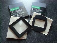 645 mask for IIIN rollfilm back & 645 screen (6x4.5cm) Fuji GX680 (II III IIIS )