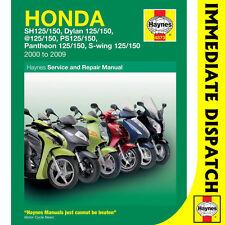 [4873] Honda FES125 NES125 PES125 SE125 SH125 Scooters 2000-09 Haynes Workshop M