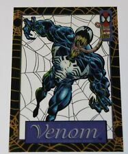 1994 Amazing Spider-Man Suspended Animation Chase Card # 4 Venom