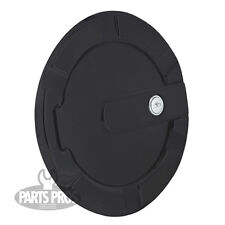 NEW Flat Black Locking Gas Fuel Door / FOR CHEVROLET SILVERADO TRUCK 1999-2013
