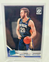 Nicolo Melli ROOKIE Card - 2019-20 Donruss Optic Rated Rookie Card #163 Pelicans