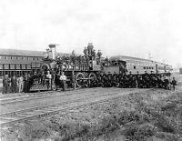 Great Railroad Strike of 1894-US Infantry Patrolling Train- Rock Island Railroad