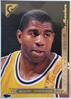 Magic Johnson Topps Gallery 1996 NBA Trading Card #6 Los Angeles Lakers