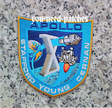 "APOLLO X (10) POST-FLIGHT"" CREW PATCH SPACE NASA STAFFORD YOUNG CERNAN Raumfahrt"
