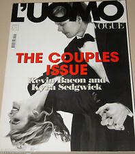 L'UOMO VOGUE MAGAZINE=2010/407=KEVIN BACON=KYRA SEDGWICK=THE COUPLES ISSUE=