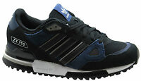 Adidas Originals ZX 750 Mens Trainers Black Blue Suede Leather B25958 D74