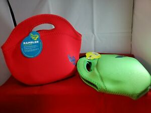 BYO Rambler Expandable Travel Lunch Bag RED or GREEN