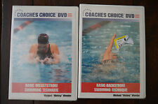 Coaches Choice DVD: Basic Breaststroke & Backstroke Swimming Technique
