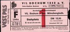 Ticket BL 87/88 VfL Bochum - Borussia Mönchengladbach, 31.07.1987
