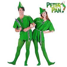Adults Mens Ladies Peter Pan Elf Robin Hood Fancy Dress Costume Book Xmas