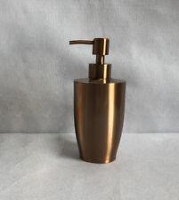 Bathroom Bbath Soap Dispenser Liquid Shampoo Bottle SUS Holder Free Stand 400ML