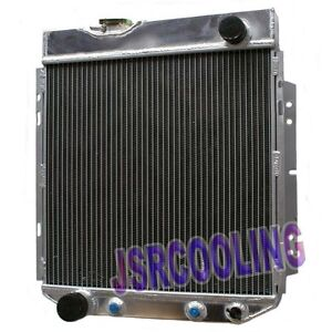 3 ROW Performance Aluminum Radiator fit for Ford Mustang I6 1964-1966 AT MT New