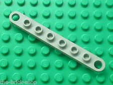 LEGO TECHNIC OldGray Plate 1 x 8 with Holes ref 4442 / Set 5561 8849 5510 8050..